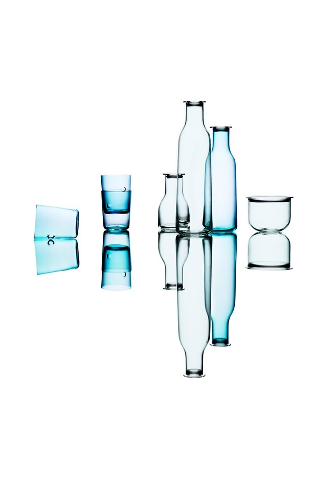 Серия посуды из выдувного стекла Minima для Holmegaard A/S