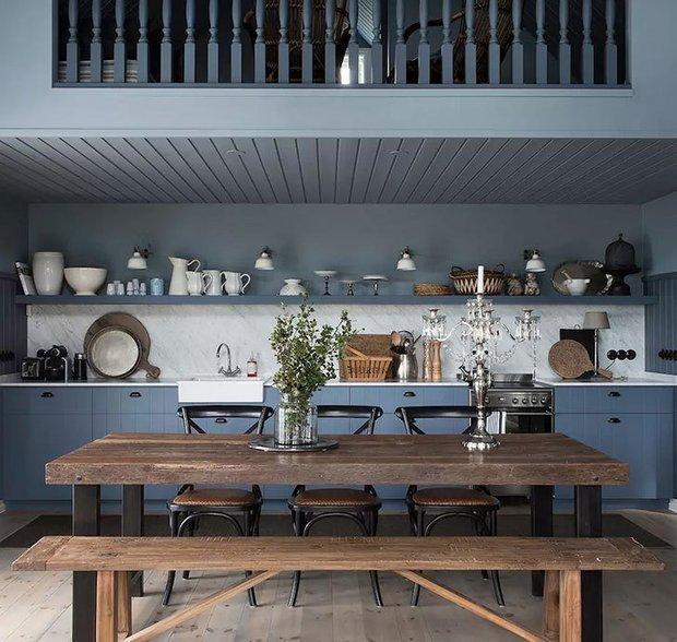 Фотография: Ванная в стиле Скандинавский, Кухня и столовая, Дом и дача – фото на INMYROOM