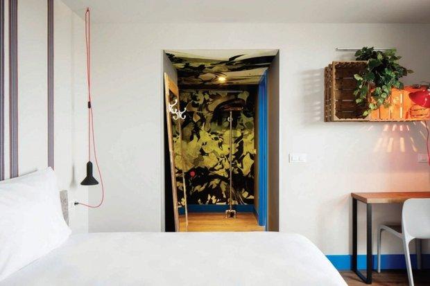 Фотография: Спальня в стиле Прованс и Кантри, Скандинавский, Современный, Декор интерьера, Испания, Дома и квартиры, Городские места, Отель, Барселона – фото на INMYROOM