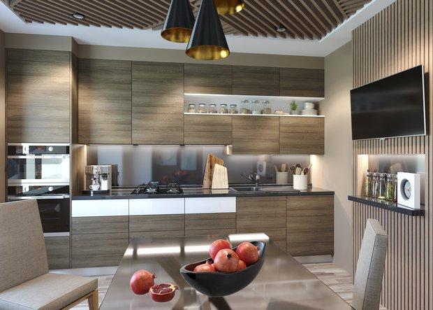 Фотография: Кухня и столовая в стиле Современный, Гид, Mr. Doors – фото на INMYROOM