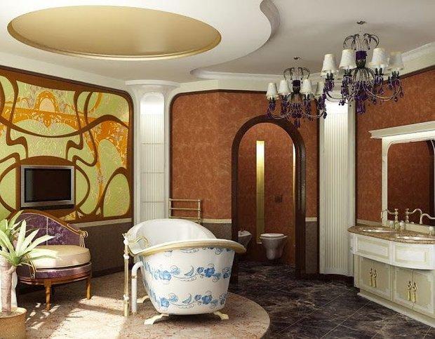 Фотография: Ванная в стиле Классический, Декор интерьера, Модерн, модерн в интерьере – фото на INMYROOM