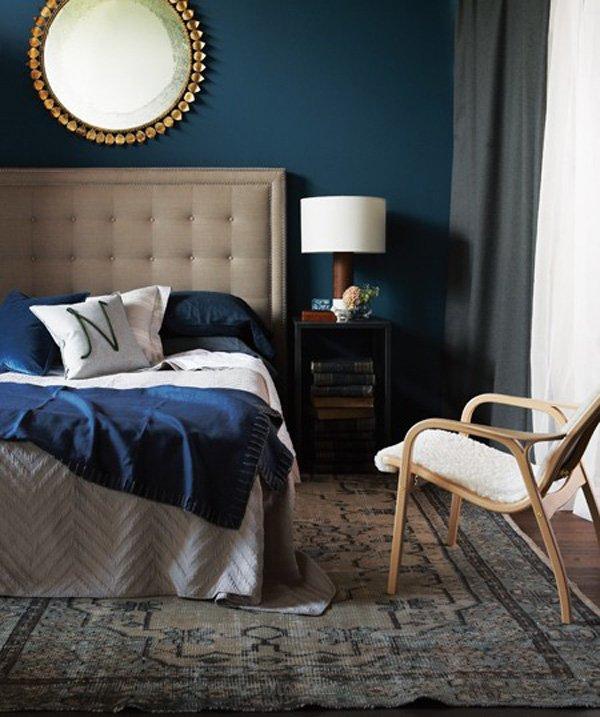 Фотография: Спальня в стиле Современный, Интерьер комнат, Цвет в интерьере, Советы – фото на INMYROOM