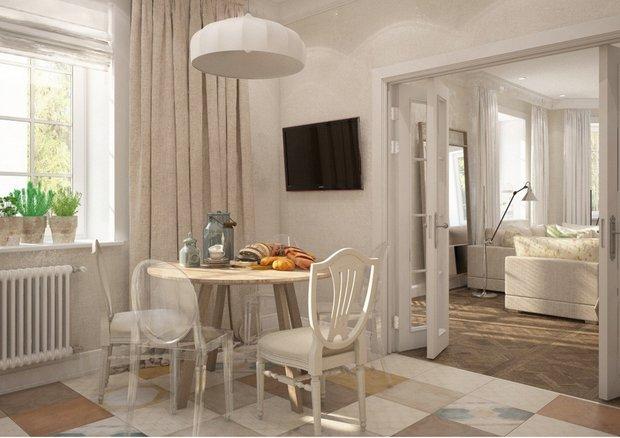 Фотография: Кухня и столовая в стиле Прованс и Кантри, Марокко + Прованс, интерьерный стиль прованс, прованс в интерьере – фото на INMYROOM