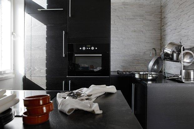 Фотография: Кухня и столовая в стиле Современный, Скандинавский, Декор интерьера, Малогабаритная квартира, Квартира, Дома и квартиры – фото на INMYROOM