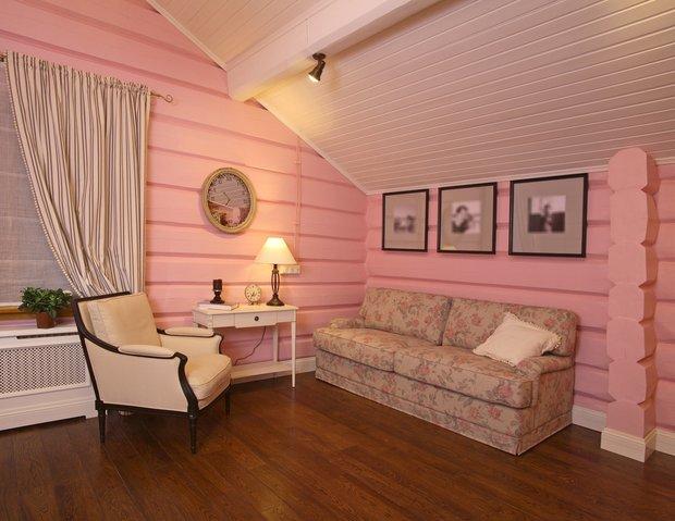 Фотография: Гостиная в стиле Прованс и Кантри, Классический, Современный, Квартира, Дома и квартиры – фото на INMYROOM