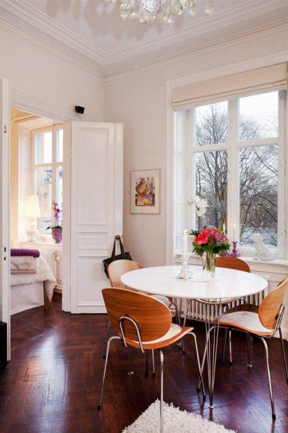 Фотография: Кухня и столовая в стиле Скандинавский, Малогабаритная квартира, Квартира, Дома и квартиры, Минимализм – фото на INMYROOM