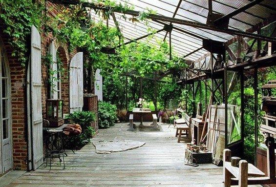 Фотография: Терраса в стиле Прованс и Кантри, Дом, Дома и квартиры, Прованс – фото на INMYROOM