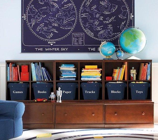 Фотография: Детская в стиле Прованс и Кантри, Скандинавский, Квартира, Дома и квартиры, Игрушки – фото на INMYROOM
