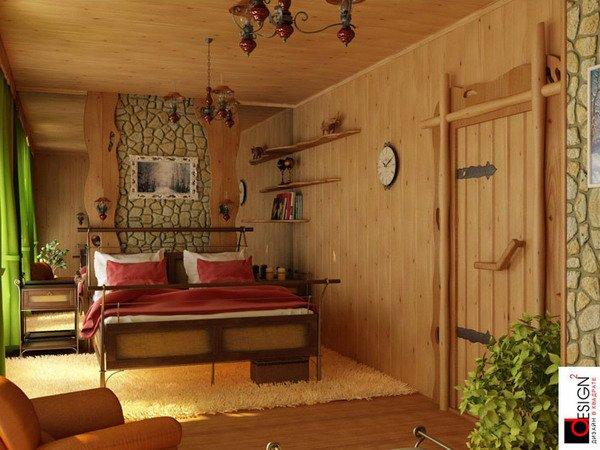 Фотография: Спальня в стиле Прованс и Кантри, Квартира, Дома и квартиры, Фитостены – фото на INMYROOM