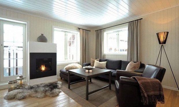 Фотография: Гостиная в стиле Минимализм, Декор интерьера, Мебель и свет – фото на INMYROOM