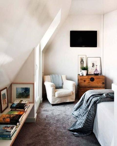 Фотография: Спальня в стиле Скандинавский, Интерьер комнат – фото на INMYROOM