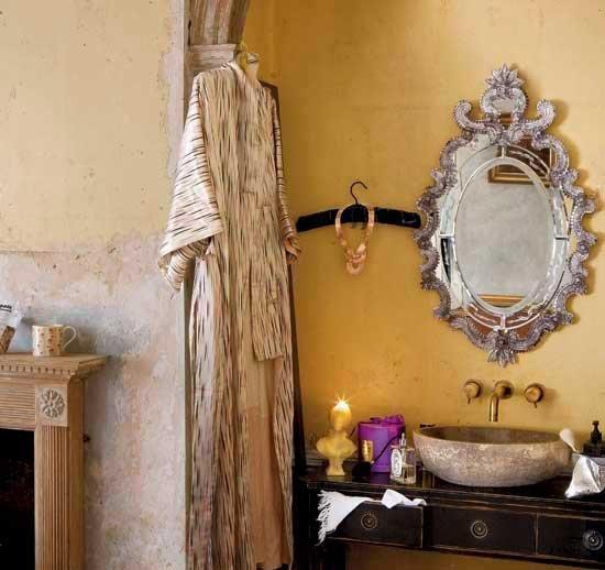 Фотография: Ванная в стиле Восточный, Интерьер комнат, Декоративная штукатурка – фото на INMYROOM