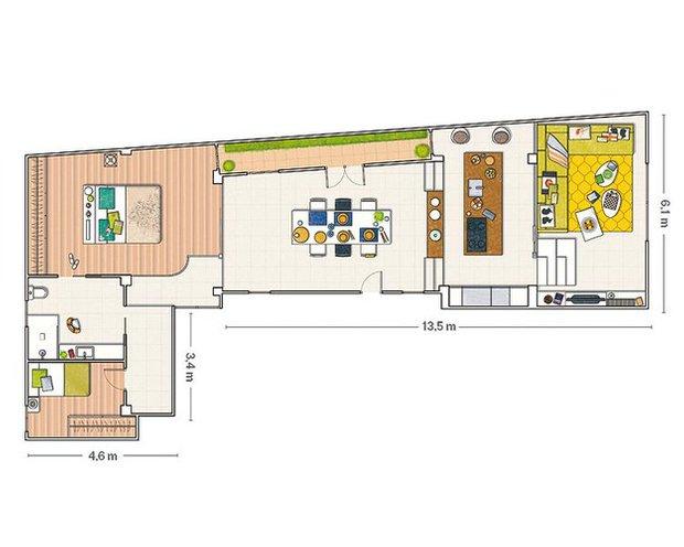Фотография: Спальня в стиле Скандинавский, Лофт, Декор интерьера, Квартира, Цвет в интерьере, Дома и квартиры, Белый, Барселона – фото на INMYROOM