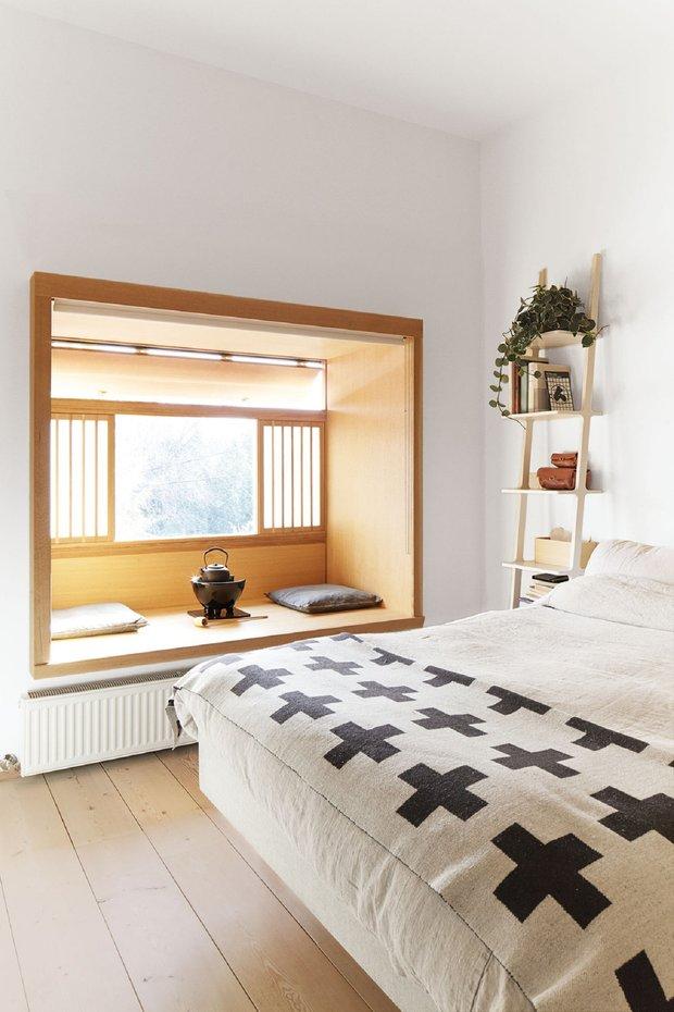 Фотография: Спальня в стиле Скандинавский, Восточный, Советы, Ксения Мезенцева – фото на INMYROOM