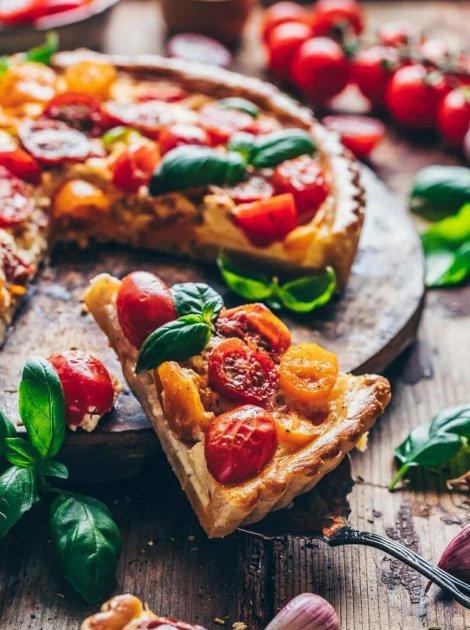 Фотография:  в стиле , Закуска, Основное блюдо, Выпекание, Помидоры, Французская кухня, Кулинарные рецепты, 1 час, Европейская кухня, Просто, Сливочный сыр – фото на INMYROOM