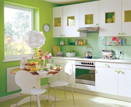 Фотография: Кухня и столовая в стиле Современный, Декор интерьера, DIY, Цвет в интерьере, Стиль жизни, Советы, Белый, Зеркала – фото на INMYROOM