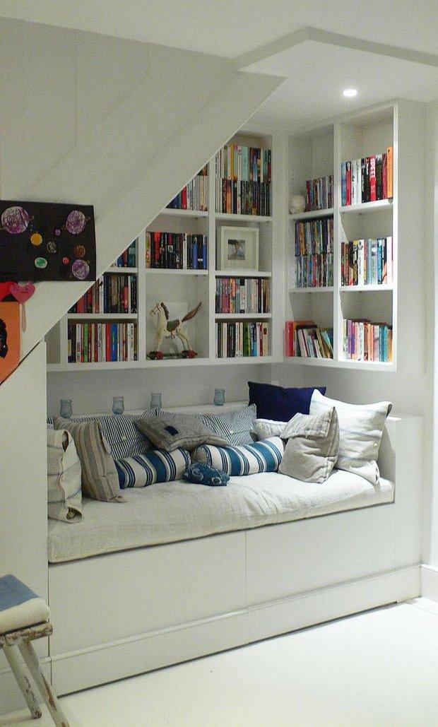 Фотография: Детская в стиле Прованс и Кантри, Советы, Бежевый, Серый, Мебель-трансформер, кровать-трансформер, диван-кровать – фото на INMYROOM