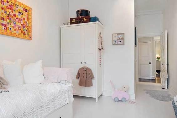 Фотография: Детская в стиле Прованс и Кантри, Скандинавский, Квартира, Швеция, Мебель и свет, Дома и квартиры, Гетеборг – фото на INMYROOM