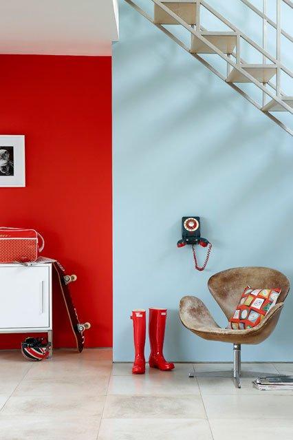 Фотография: Декор в стиле Современный, Декор интерьера, Дизайн интерьера, Цвет в интерьере, Краска – фото на INMYROOM