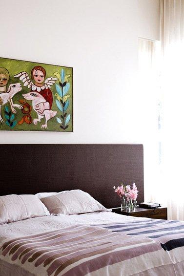 Фотография: Спальня в стиле Минимализм, Декор интерьера, Дом, Австралия, Дома и квартиры – фото на INMYROOM