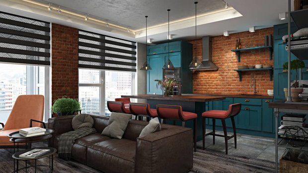 Дизайн: FISHEYE Architecture & Design