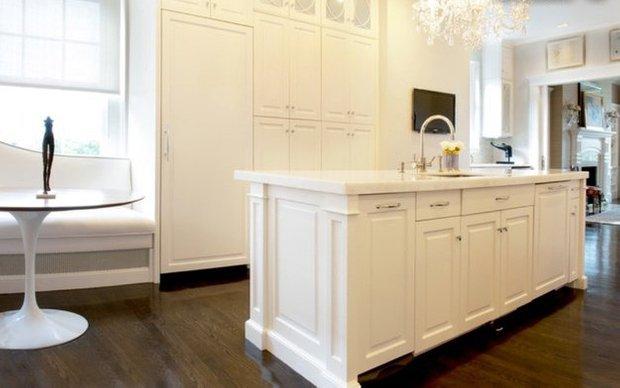 Фотография: Кухня и столовая в стиле Современный, Эклектика, Квартира, Дома и квартиры, Пентхаус, Картины – фото на InMyRoom.ru