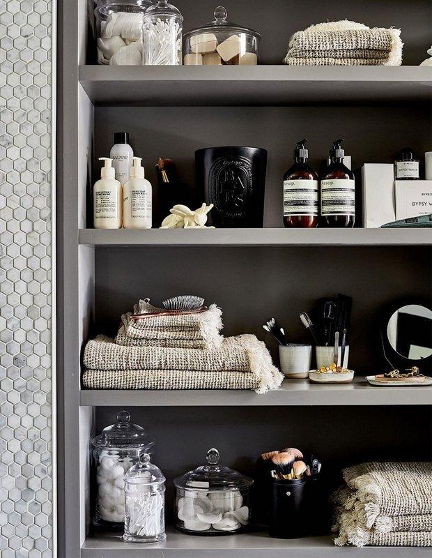 Фотография:  в стиле , Ванная, Советы, хранение в ванной комнате, порядок в ванной, Ольга Кулешова – фото на INMYROOM