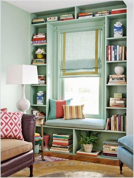 Фотография: Декор в стиле Прованс и Кантри, Декор интерьера, Домашняя библиотека, как разместить книги в интерьере, книги в интерьере – фото на InMyRoom.ru