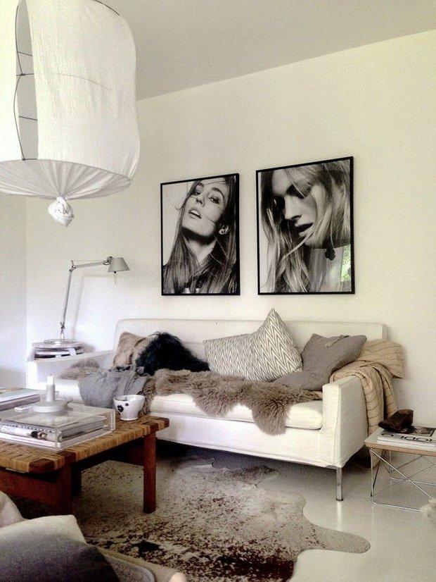 Фотография: Гостиная в стиле Современный, Декор интерьера, Текстиль, Декор, Текстиль – фото на INMYROOM
