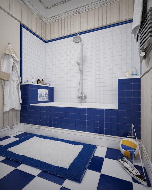 Фотография: Ванная в стиле Современный, Классический, Дом, Дома и квартиры, Прованс, Проект недели – фото на INMYROOM