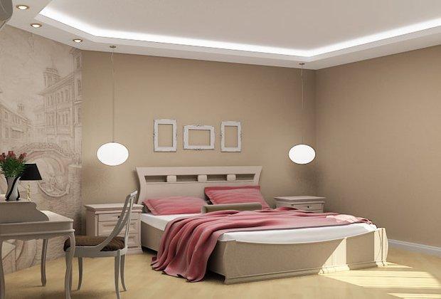 Фотография: Спальня в стиле Классический, Квартира, Дома и квартиры, Стены, Панно, Ремонт на практике – фото на INMYROOM