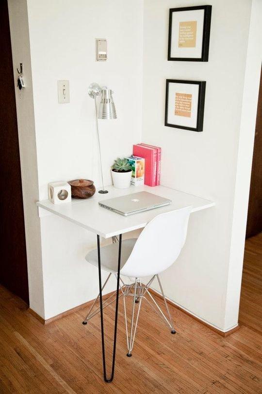 Фотография: Кабинет в стиле Современный, Малогабаритная квартира, Квартира, Советы – фото на INMYROOM
