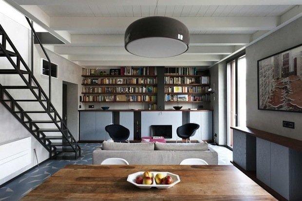Фотография: Кухня и столовая в стиле Лофт, Декор интерьера, Декор дома, Библиотека – фото на INMYROOM