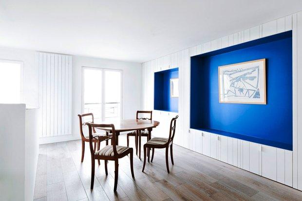 Фотография: Кухня и столовая в стиле Современный, Квартира, Франция, Мебель и свет, Дома и квартиры, Париж – фото на INMYROOM