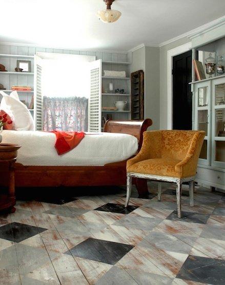 Фотография: Спальня в стиле Прованс и Кантри, Декор интерьера, Декор дома, Пол – фото на InMyRoom.ru