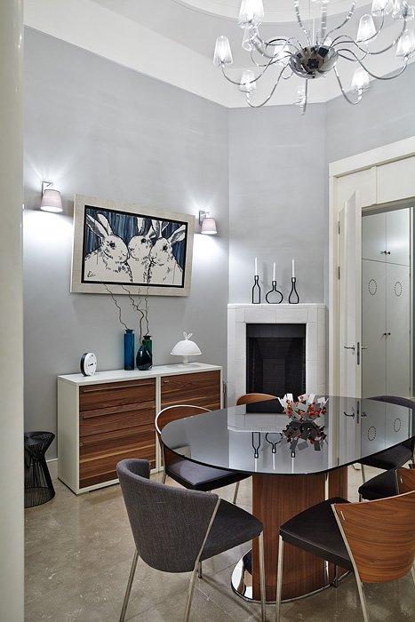 Фотография: Кухня и столовая в стиле Восточный, Эклектика, Квартира, Дома и квартиры, Перепланировка – фото на InMyRoom.ru
