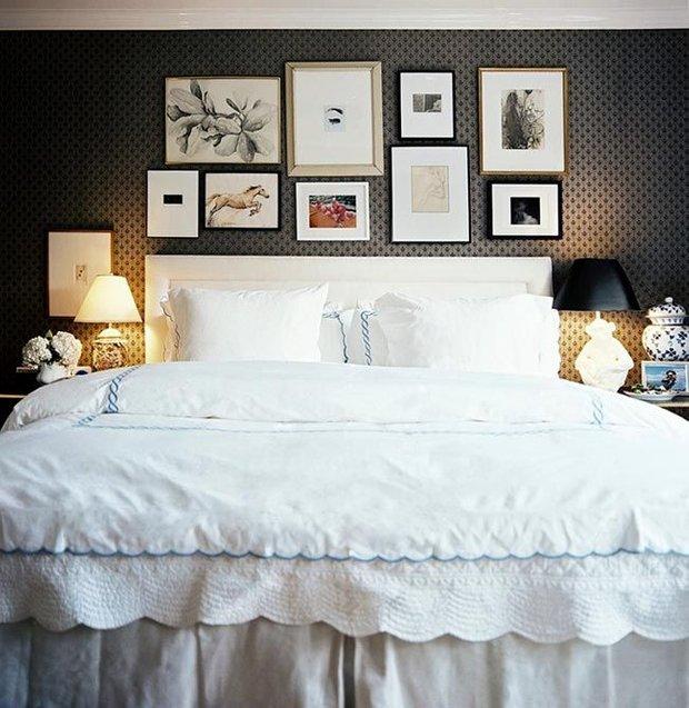 Фотография: Спальня в стиле Прованс и Кантри, Декор интерьера, Дом, Декор, Декор дома, Цвет в интерьере – фото на INMYROOM
