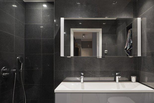 Фотография: Ванная в стиле Классический, Современный, Декор интерьера, Квартира, 4 и больше, Более 90 метров – фото на InMyRoom.ru