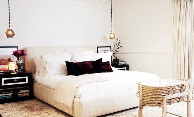 Фотография: Спальня в стиле Лофт, Скандинавский, Интерьер комнат, Цвет в интерьере, Советы – фото на INMYROOM
