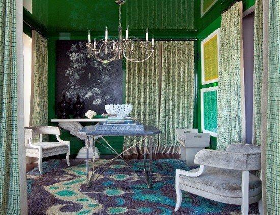 Фотография: Гостиная в стиле Классический, Современный, Декор интерьера, Цвет в интерьере, Индустрия, Новости, Маркет, Ковер – фото на INMYROOM