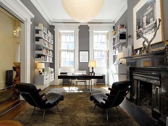 Фотография: Офис в стиле Классический, Современный, Кабинет, Стиль жизни, Советы – фото на INMYROOM