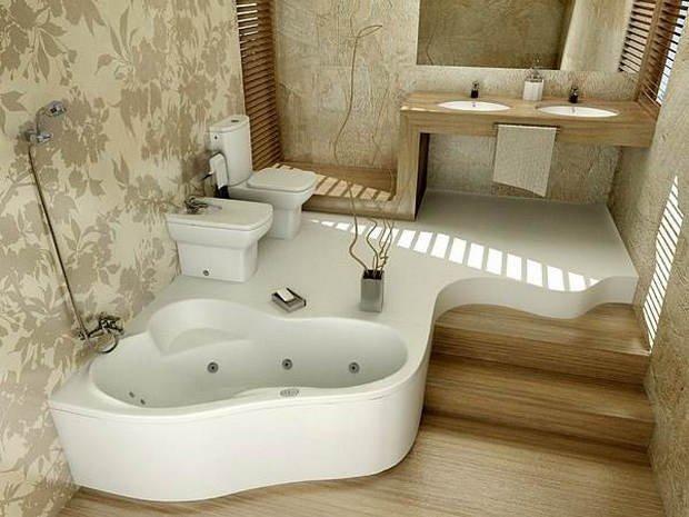 Фотография: Ванная в стиле Современный, Стиль жизни, Советы, Перепланировка, Переделка, Ремонт – фото на INMYROOM