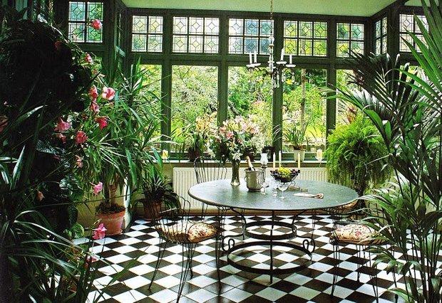 Фотография: Кухня и столовая в стиле Прованс и Кантри, Балкон, Дом, Дома и квартиры – фото на INMYROOM
