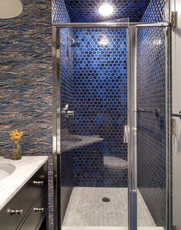 Фотография: Ванная в стиле Современный, Эклектика, Лофт, Декор интерьера, Квартира, Дома и квартиры, Нью-Йорк – фото на INMYROOM