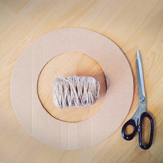 Фотография:  в стиле , DIY, декоративный венок – фото на INMYROOM