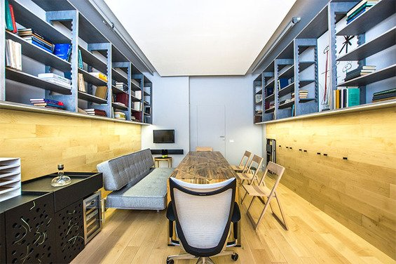 Фотография: Кабинет в стиле Современный, Эко, Гостиная, Декор интерьера, Интерьер комнат – фото на INMYROOM