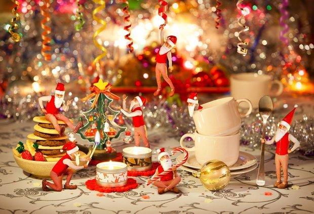 Фотография:  в стиле , Советы, сервировка, Новогодний стол – фото на INMYROOM