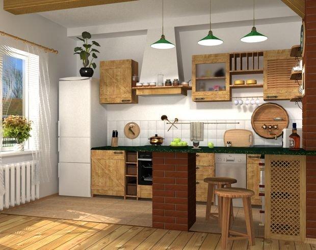 Фотография: Планировки в стиле , Кухня и столовая, Прованс и Кантри, Декор интерьера, Квартира, Дом, Декор – фото на INMYROOM