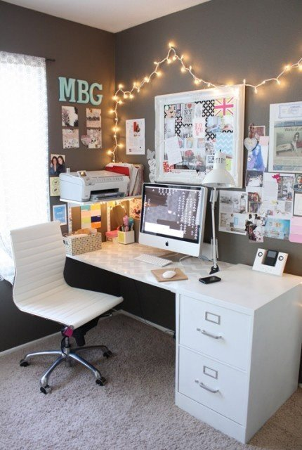 Фотография: Офис в стиле Скандинавский, Современный, Эклектика, Декор интерьера, DIY, Текстиль – фото на INMYROOM