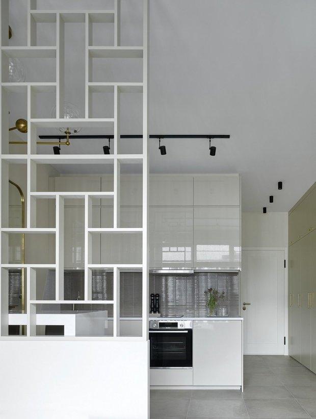 Фотография:  в стиле , Студия, Советы, напольное покрытие, дизайн квартиры студии, дизайн интерьера студии – фото на INMYROOM